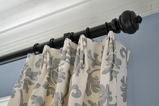 gray floral window panels header