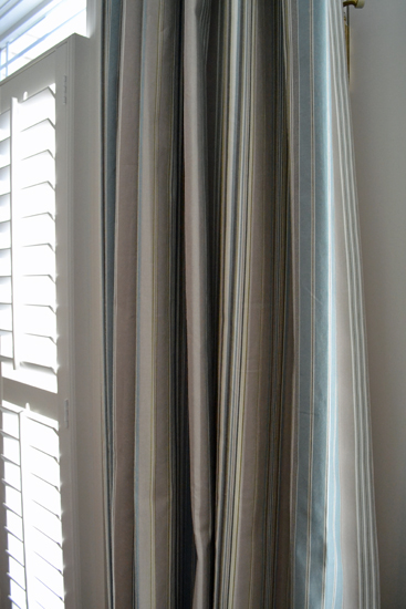window treatment close up