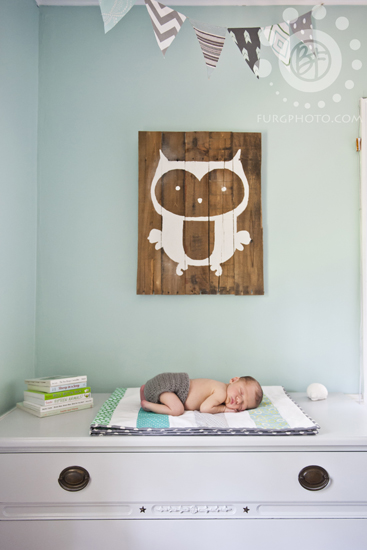 woodland nursery newborn