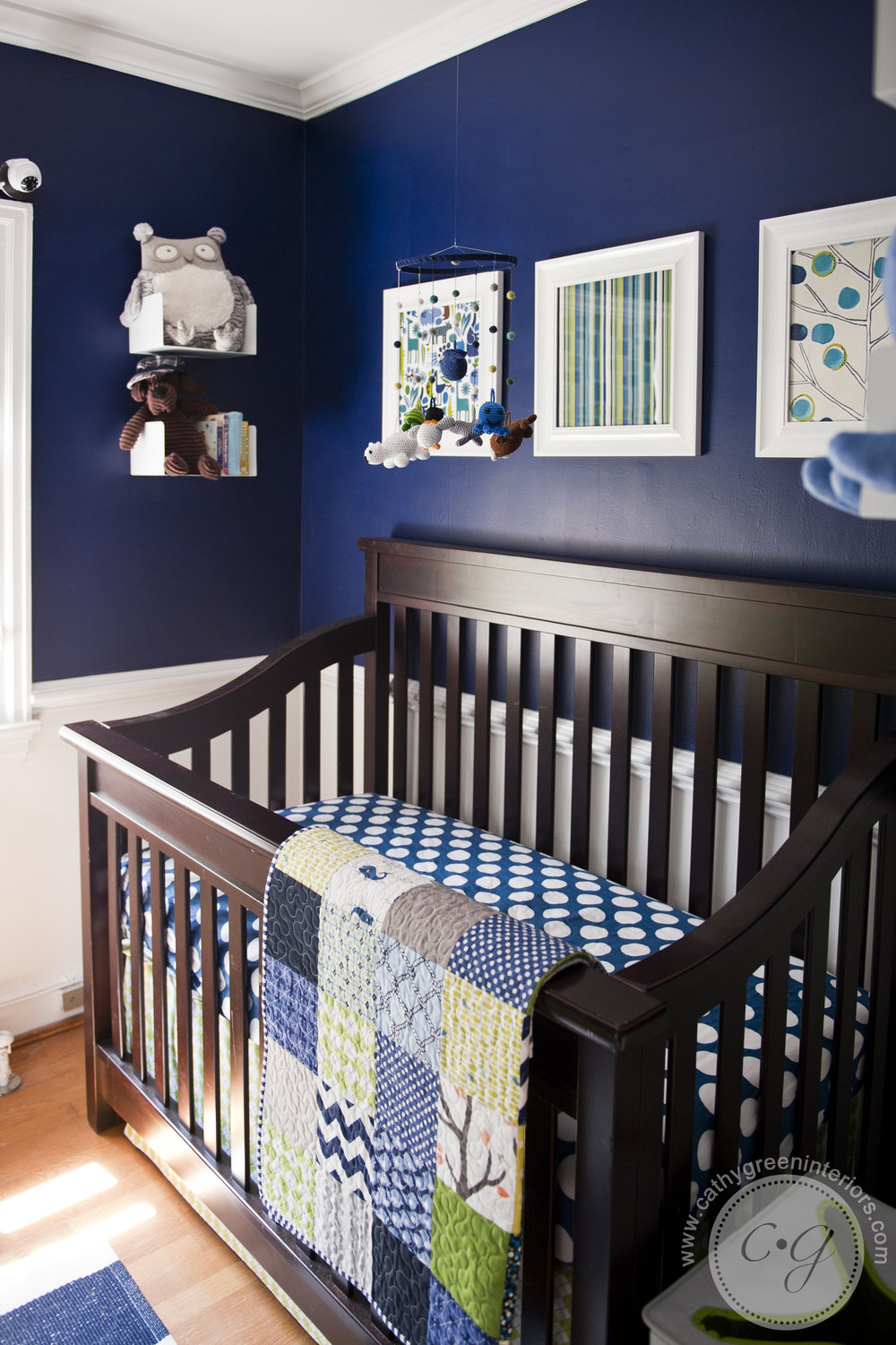 Navy and green nursery, crib - Richmond, VA