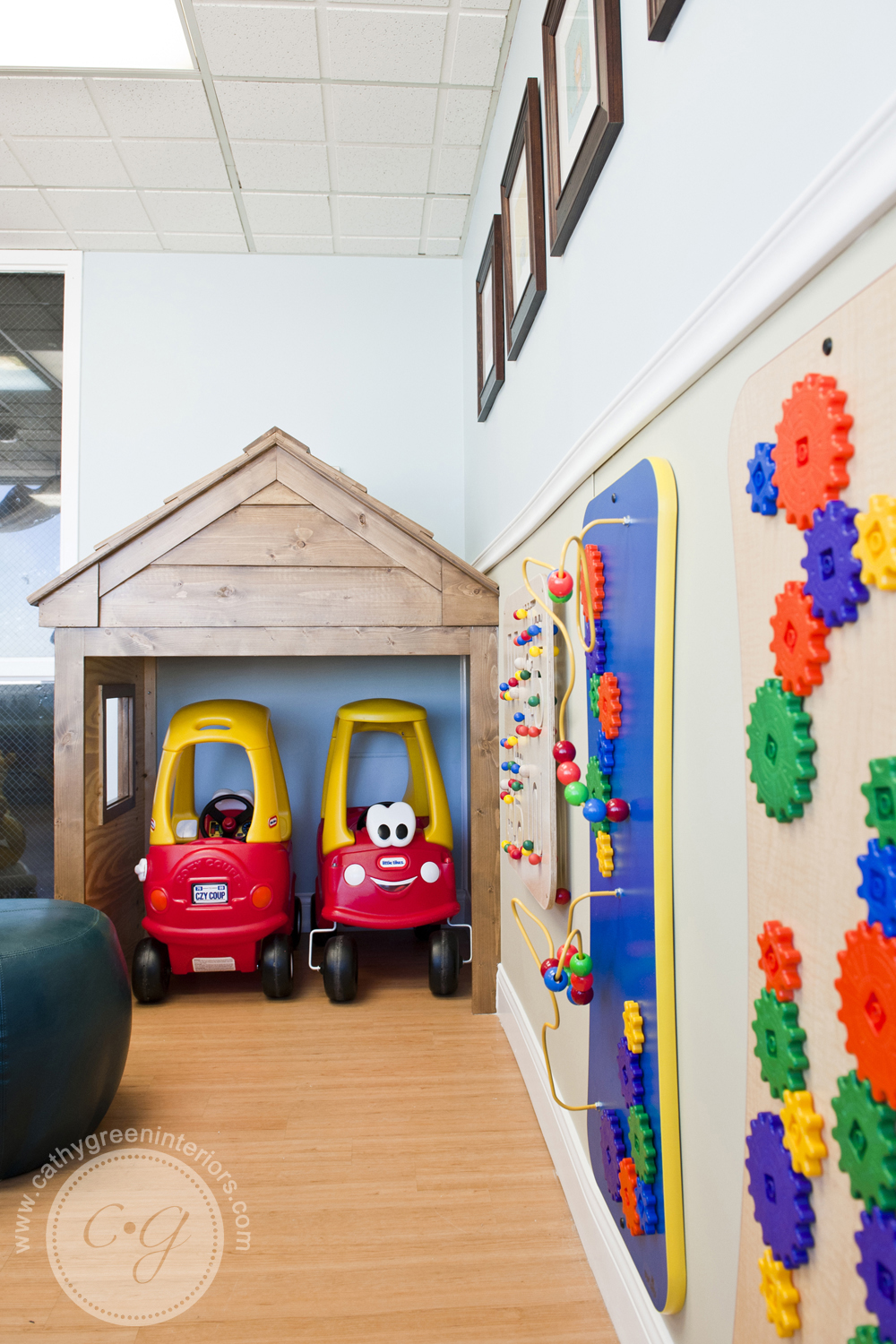 Chippenham Hospital Playroom Cozy Coupe garage - Richmond, VA
