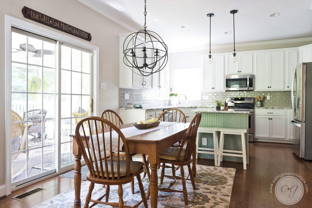 Transitional kitchen, Chesterfield, VA