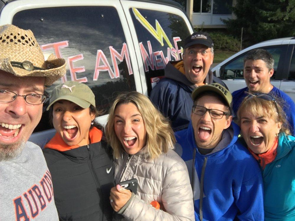 The Ragnar Crew from Van #1