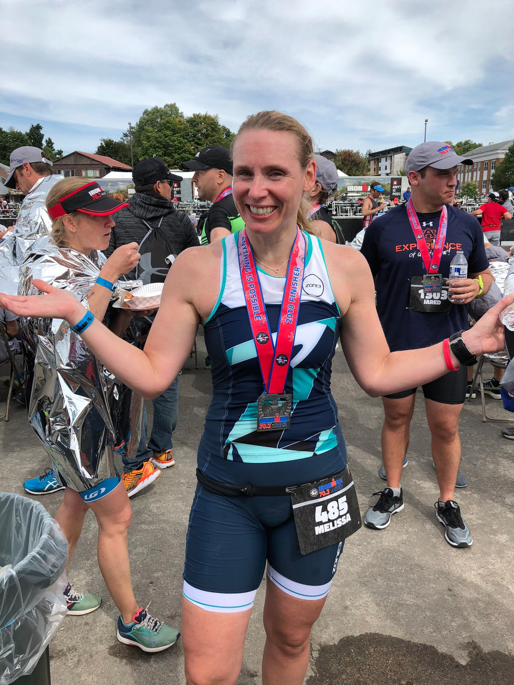Melissa Gordon - French Creek Sprint Triathlon3rd AG 40-49 (1:48:54)Ironman 70.3 Lake Placid13th Swim AG 40-45 (35:18)49th AG 40-45 (6:57:37)HITS Olympic Distance Hudson Valley, NY 20183rd AG 40-44 (3:10:31)Freihofer's Run For Women 5k(26:48)Mohawk Hudson Half Marathon(2:02:24)Troy Turkey Trot 10k(51:07, 4:00 PR from 2017 time 55:14)Stockadeathon 15k(1:22:44)