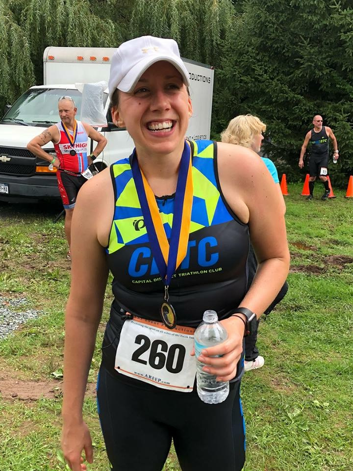 Jess Lamendola - Crystal Lake Sprint Triathlon 2018Fastest swim AG 30-34 and 4th swim overall2nd AG 30-34 (1:51:22)Lake George Olympic Triathlon 20188th AG 24-29 (2:57:37)5th Swim AG 30-34 (24:25)