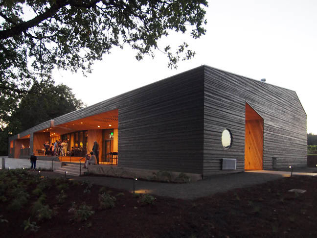 The iconic Sokol Blosser Winery