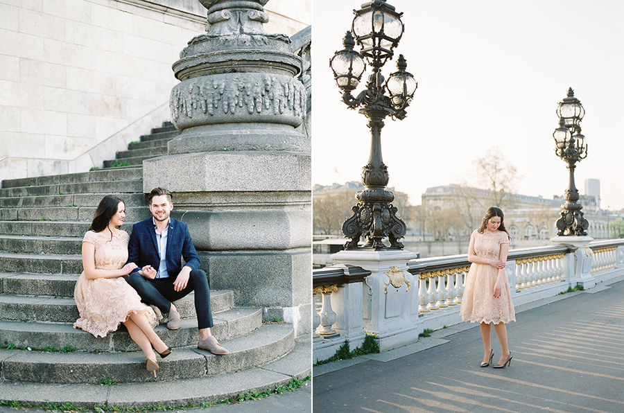 Germany fine art film wedding photographer | Kibogo Photography | Paris engagement session25.jpg