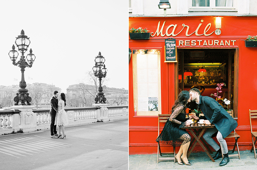 Germany fine art film wedding photographer | Kibogo Photography | Paris engagement session23.jpg