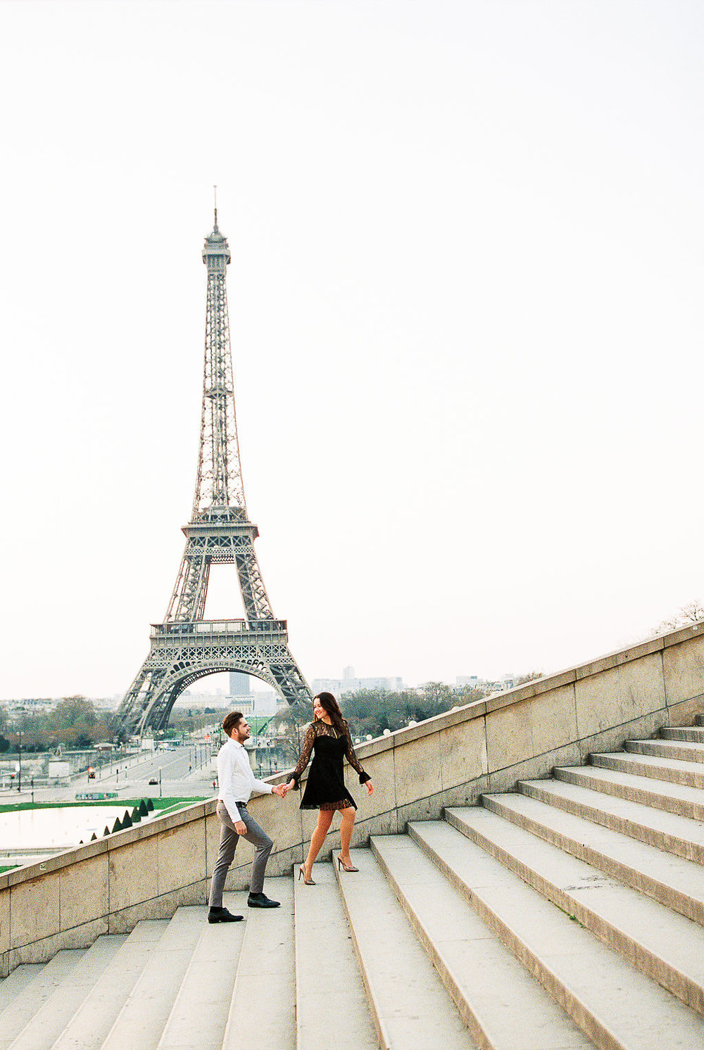 Germany fine art film wedding photographer | Kibogo Photography | Paris engagement session19.JPG