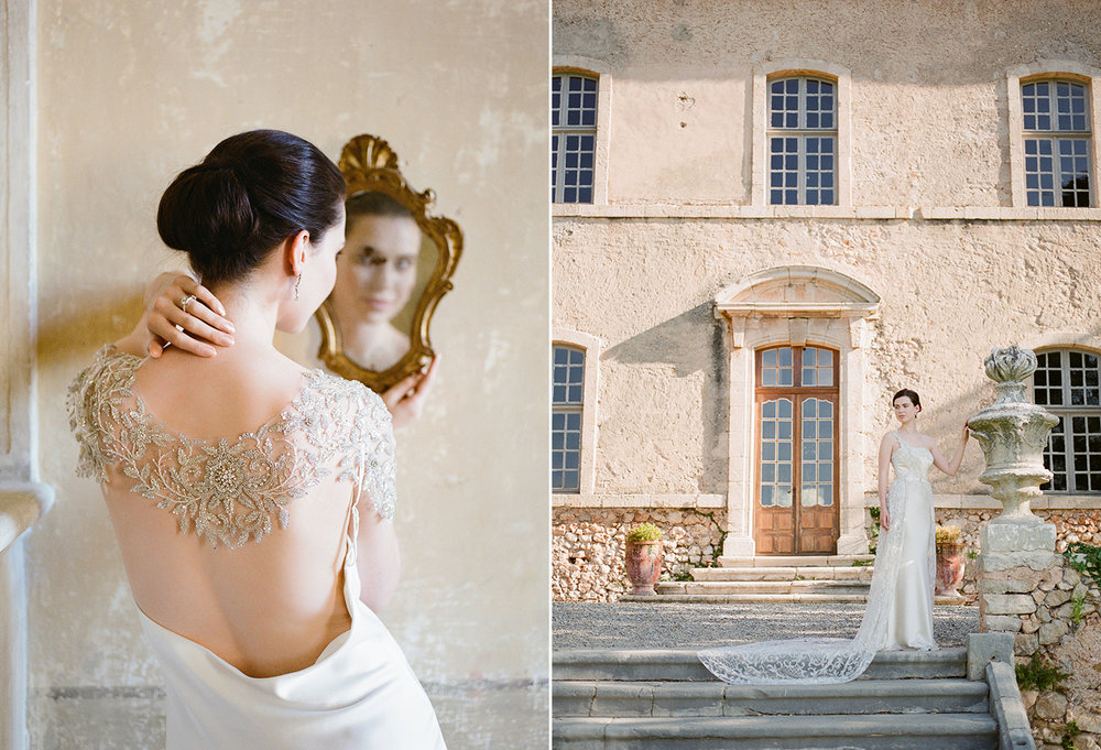 Gibson Bespoke and Tanja Kibogo | French Chateau destination fine art wedding photographer.jpg