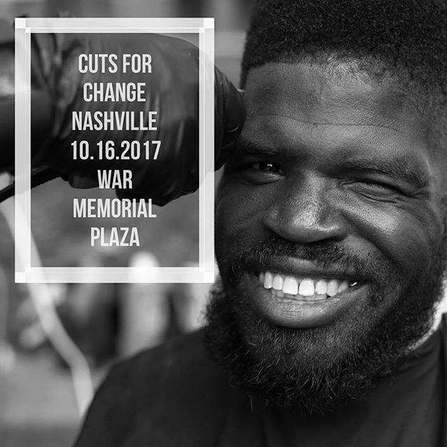 Cuts for Change Nashville is official!  10.16.2017 ✂️ | I'm so excited to partner with @showerupnashville + MORE! ✨#cutsforchange #cutsforchangenashville #BeAwesomeToSomebody