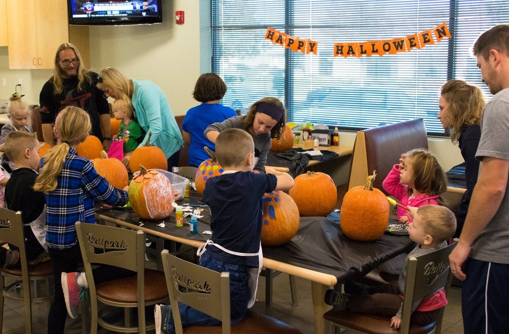 Pumpkin Decorating Event -