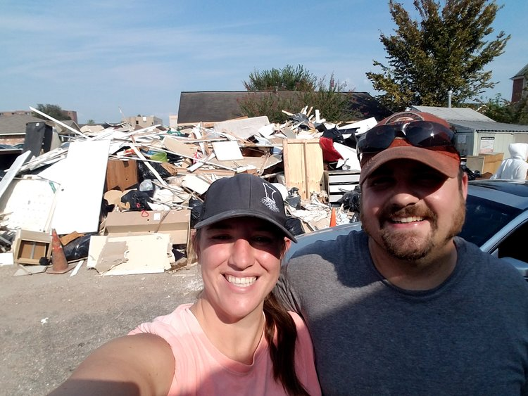 Pro Athlete Employee Donates Time To Hurricane Harvey Relief Efforts -