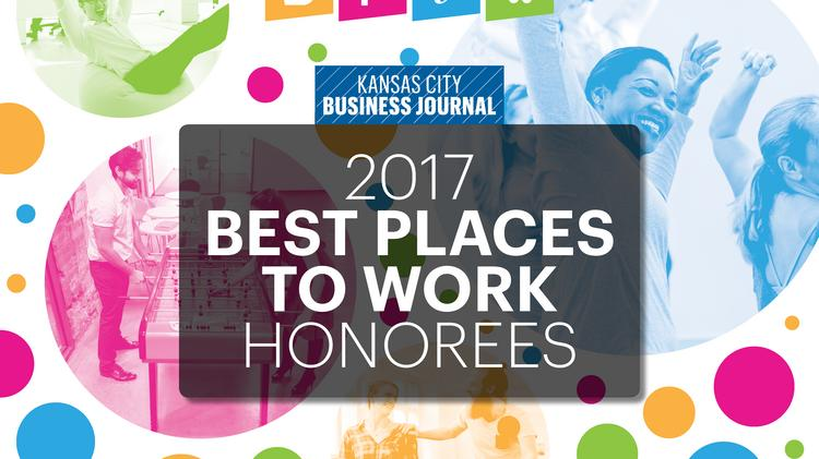 N  amed Best Place to Work in KC  Honoree