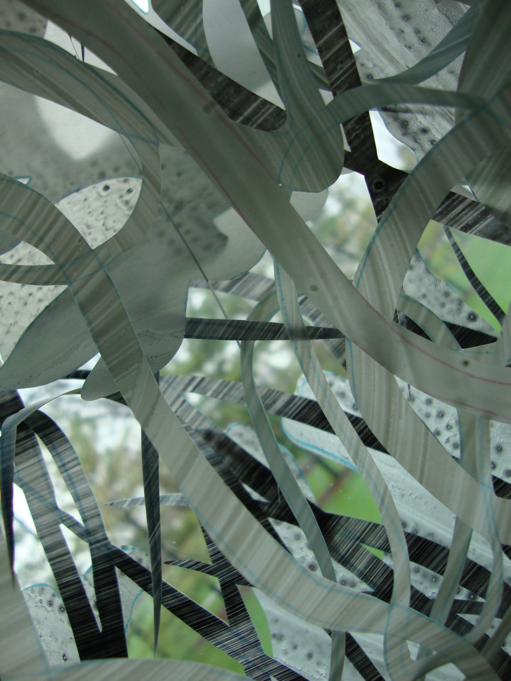 Broadcast  at the Elmhurst Art Museum 2009, detail.