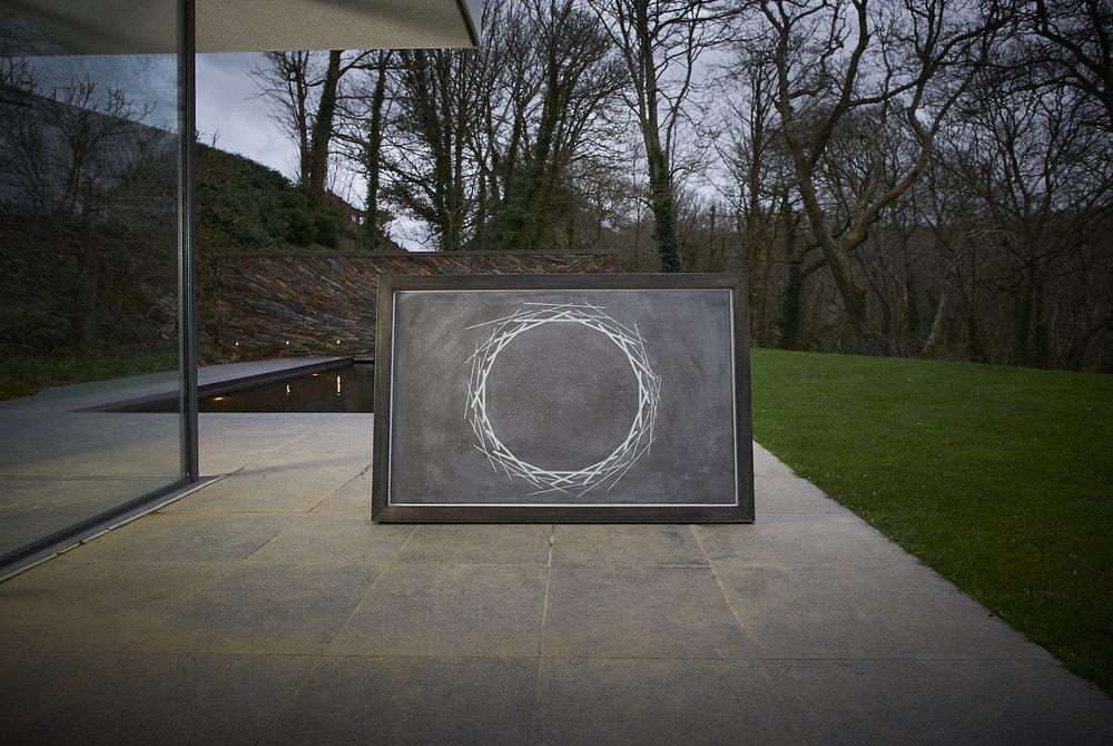 BLACK GWAVAS:   80 x 120cm / 80 x 80cm - from £1800 framed