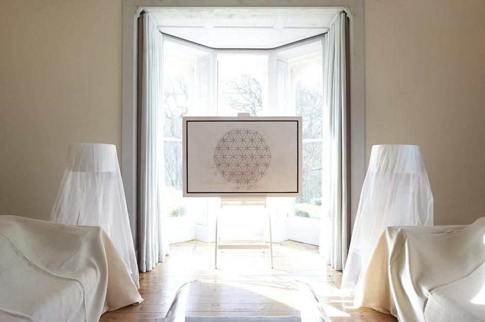 SUBSTRATA :  60 x 100/ 80 x 80/ 80 x 120cm - from £1200 unframed/ £1400 framed