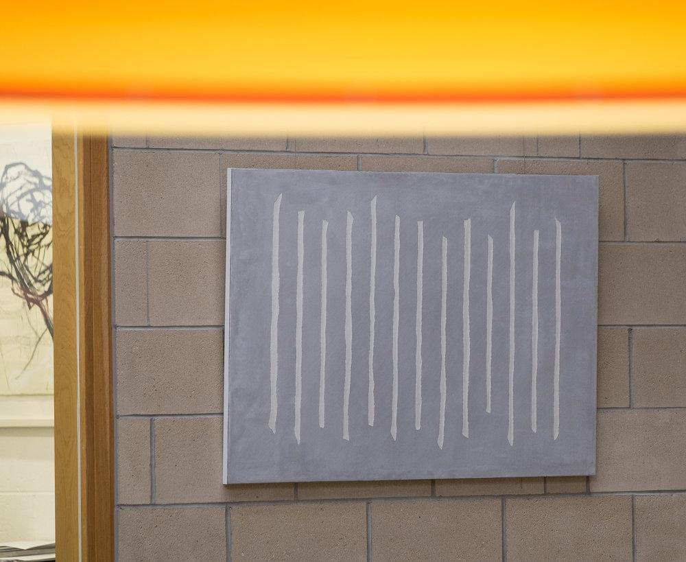 THIRTEEN LINES:   60 x 100cm / 80 x 120cm - from £1200 unframed