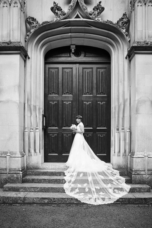 TOM & EMILY // ST MICHAEL'S ABBEY, FARNBOROUGH
