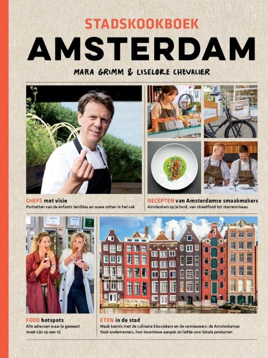 Stadskookboek Amsterdam - Walk and cook your way through town with the city cookbook. Of course the Bearded Lady shared on of here favorite recipes too.