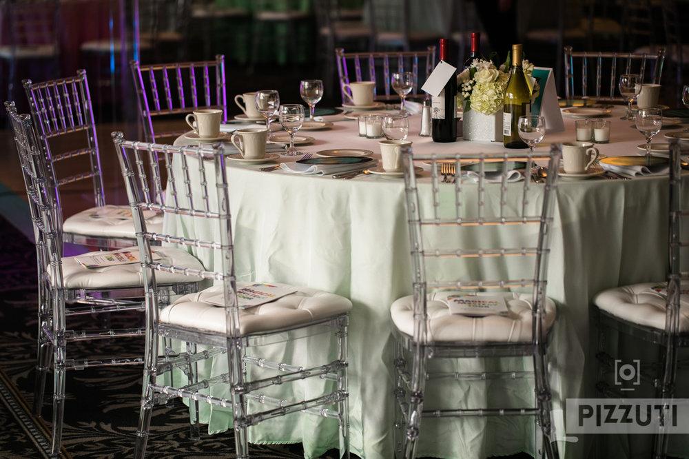 Malloy Weddings | New England wedding furniture rentals | Clear acrylic chiavari chair wedding rentals