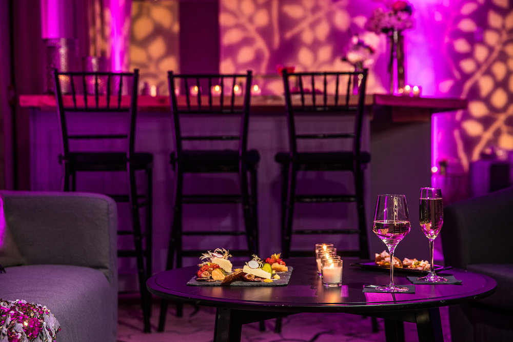 Malloy Weddings | New England wedding furniture rentals | Wedding after party lounge furniture, Inn by the Sea, Cape Elizabeth Maine