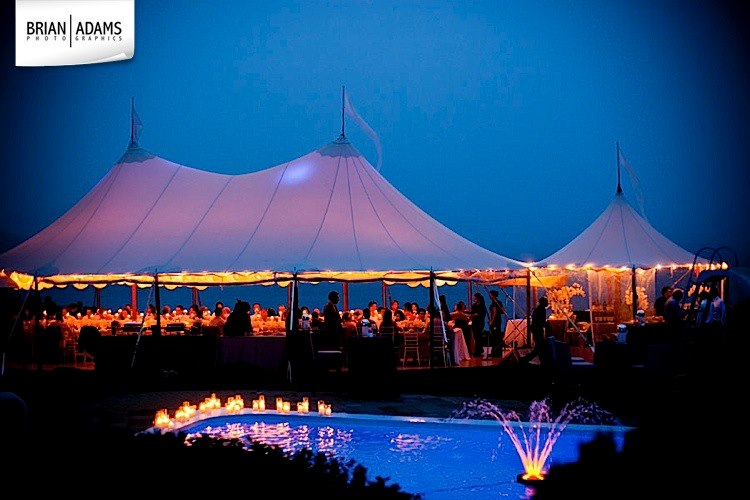 Malloy Weddings | New England wedding planner | Maine coast tented wedding