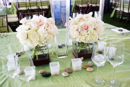 Malloy Events | New England wedding planner | Nantucket Golf Club | Wedding reception details