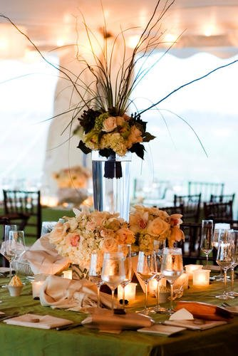 Malloy Weddings | New England wedding planner | Nantucket Golf Club wedding | Evening wedding reception