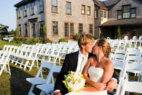 Malloy Weddings | New England wedding planner | Nantucket Golf Club wedding | bride & groom