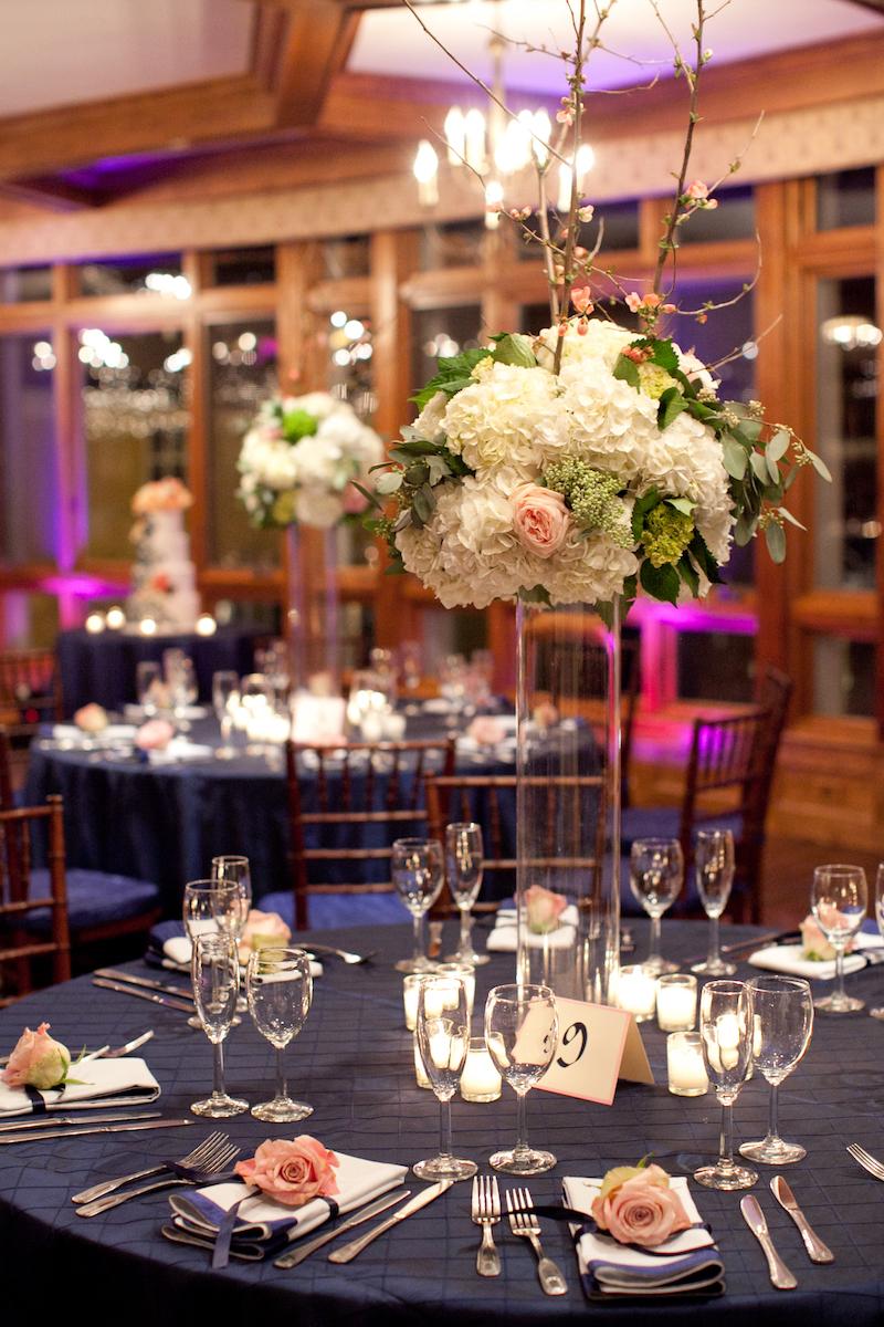 Classic navy wedding III