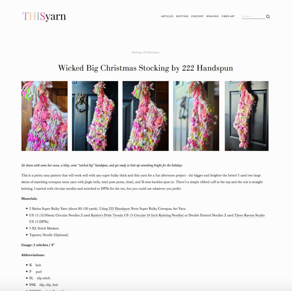 this yarn pattern 222 handspun xmas stocking.png