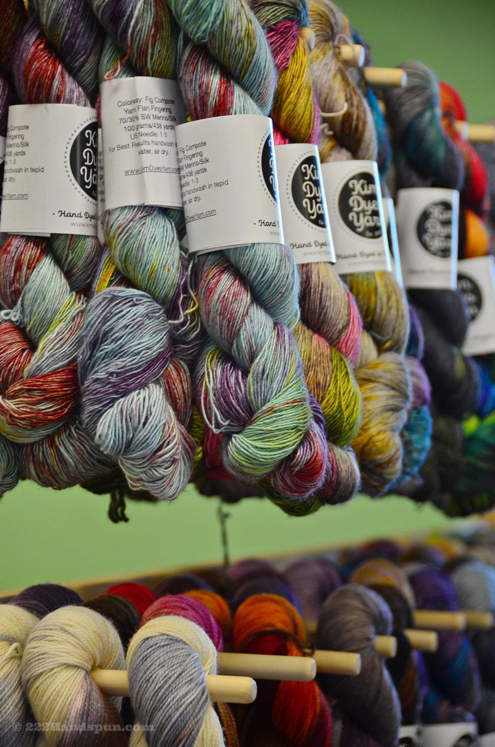 Kim Dyes Yarn