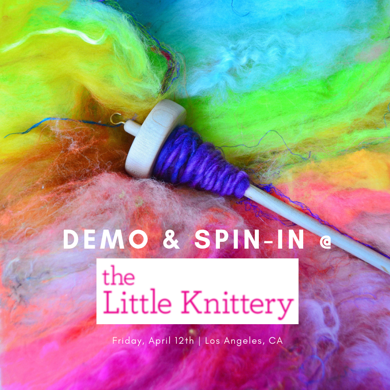Spin-in at The Little Knittery