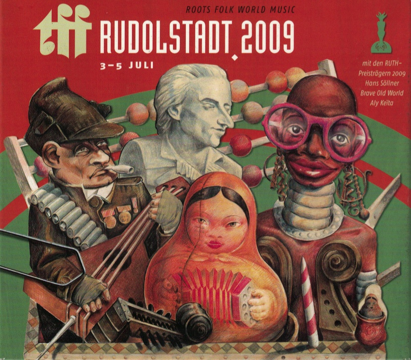 《TFF⾳樂節現場 CD&DVD 》 TFF Rudolstadt 2009  Release Date: 2009 Label:Loewenzahn