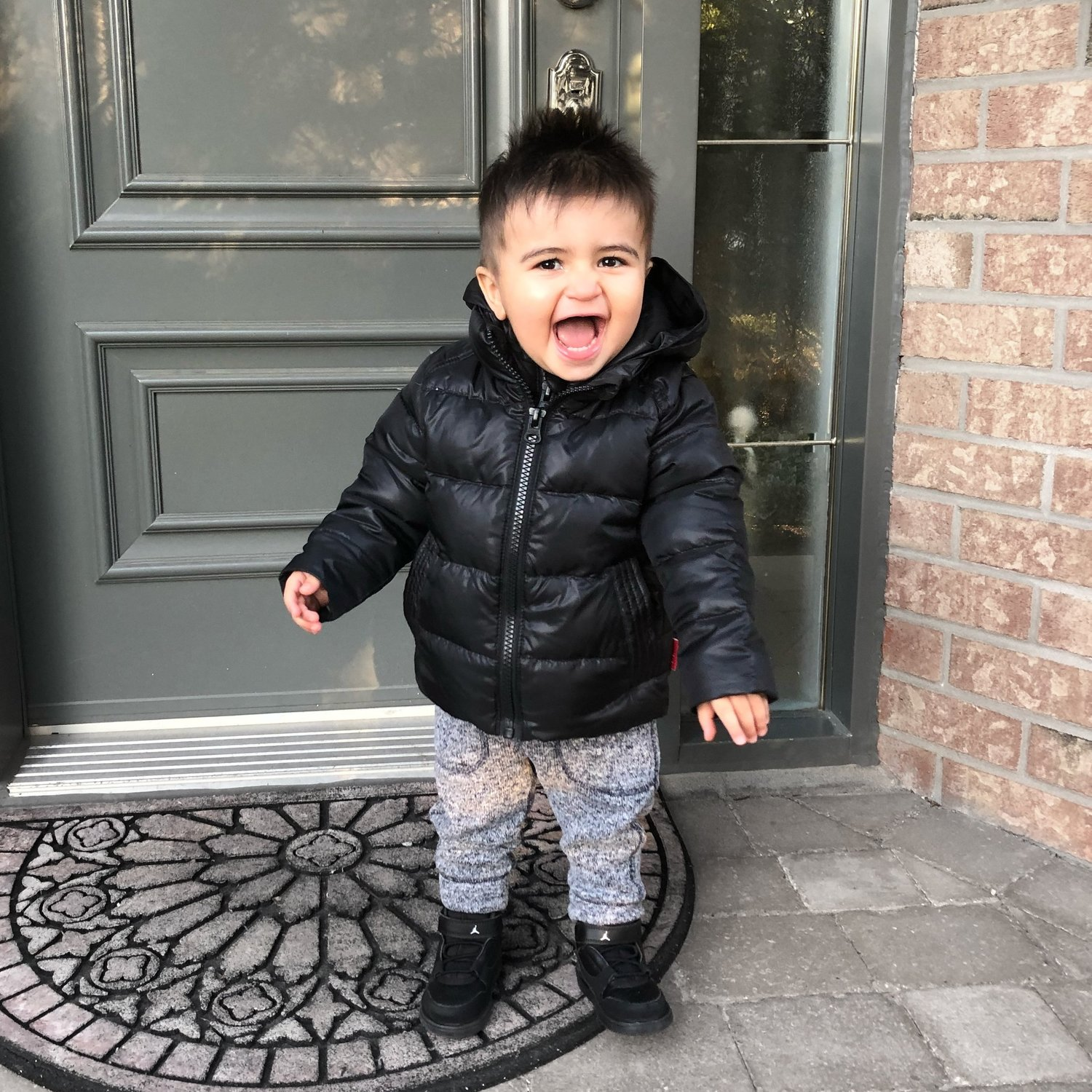 c40000dc0882 One Kid Road Coat - the Patented Crash Tested MUST HAVE Coat! — Mrs. New  Mom MTL