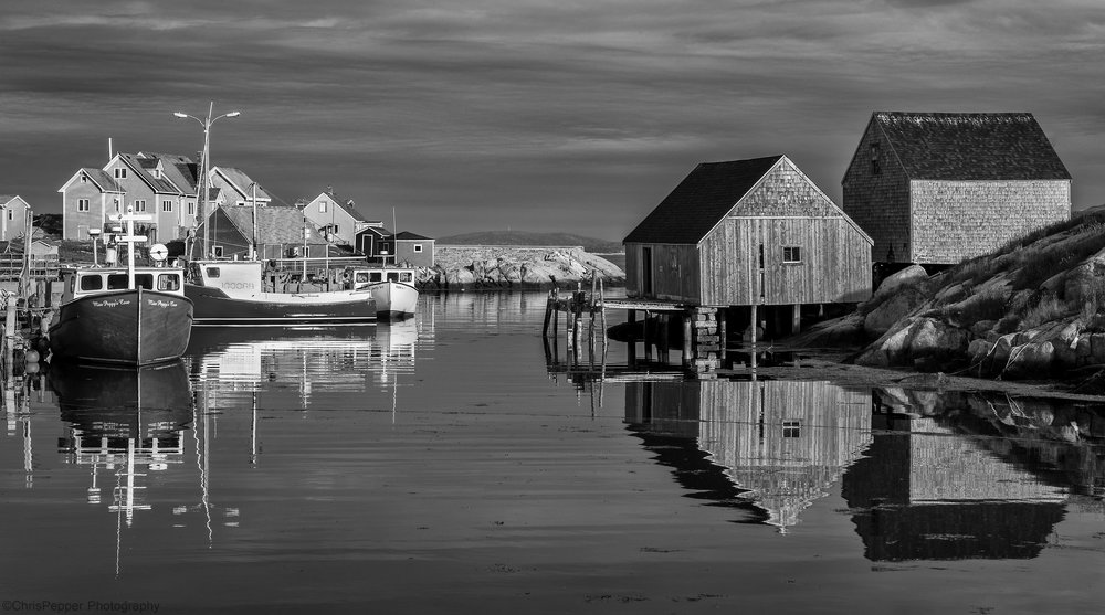 Nova Scotia Fishing village photo tour