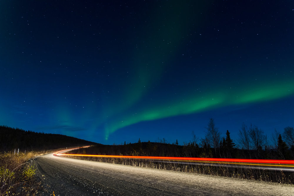 Long exposure northern lights photography workshops in Canada