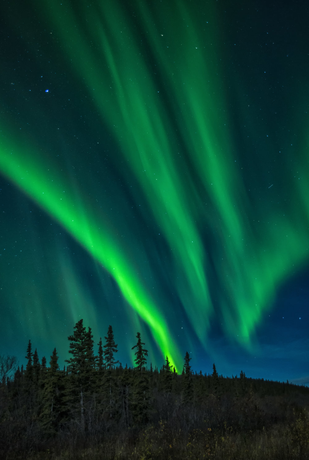 northern lights photography workshop in Canada
