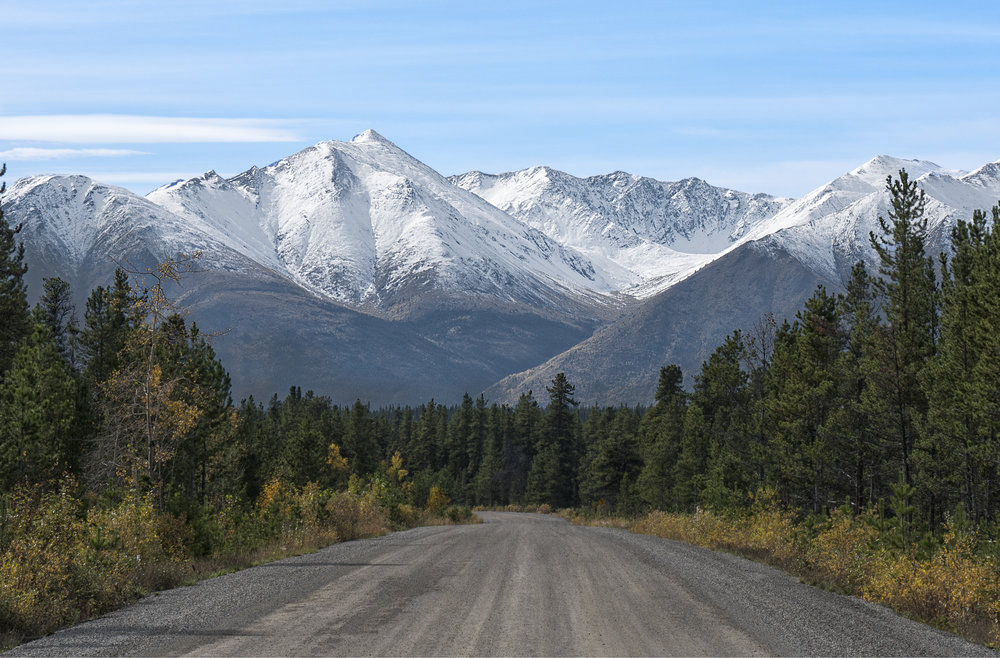 Back roads of Yukon by Chris Pepper