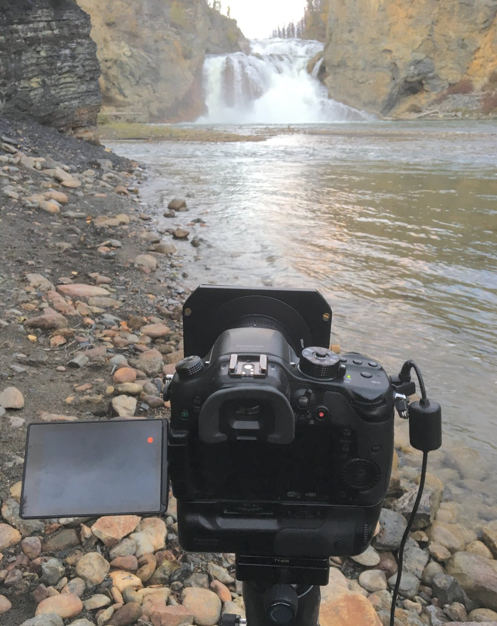 Step 4 - Now let's back up a bit and decide what type of waterfall or river photographs you want to achieve. This will depict what type of gear you will need to get the shot. Can you just walk up to a waterfall and shoot without a tripod? Yes, you can if you are shooting with a high shutter speed. But if you want that silky photo of water looking surreal to the eyes then you should start paying attention. Here is a list of gear you will need to help make better photographs.