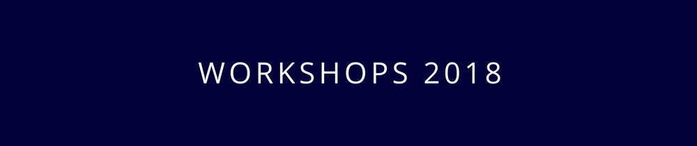 Canadian Photography Workshops 2018