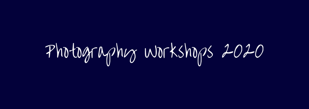 North of 49 Photography 2020 Workshops