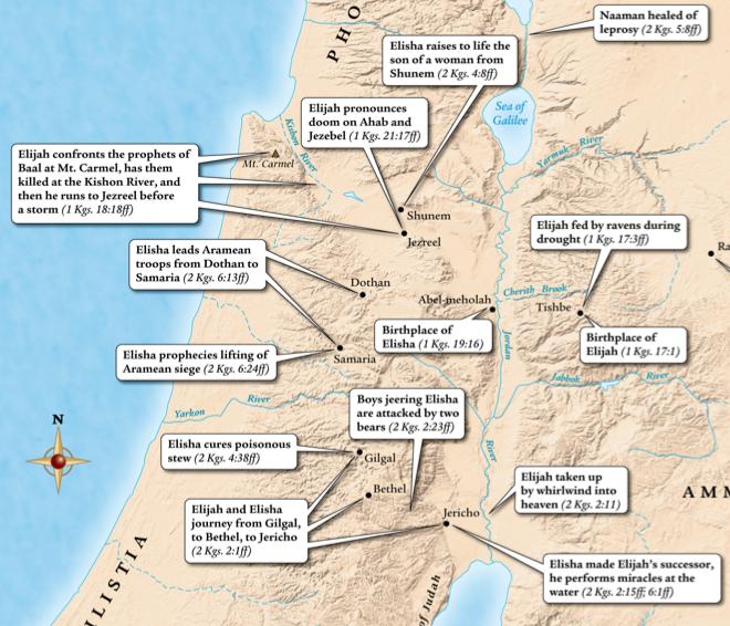 Map of Shunum