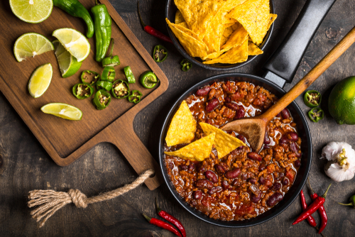 OWN shutterstock Pot of Chili Buyersagent.com Best turkey chili recipe_788280130.jpg