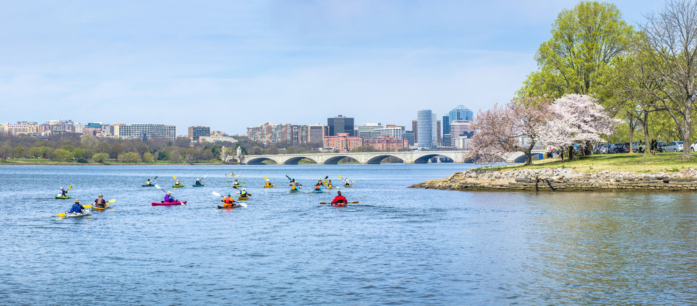 Arlington, Va real estate and Alexandria, VA have many things in common. the potomac river is perfect for boating.