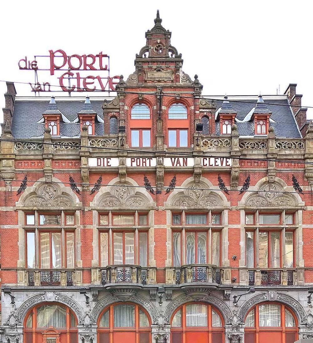 Hotel Die Port van Cleve | Amsterdam, Netherlands | c. 1870