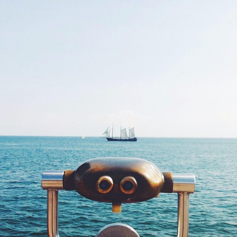 Binoculars | Toronto Islands, Ontario | c. ~1976