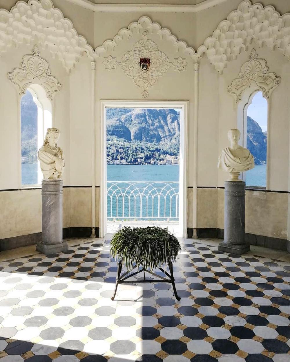 Villa Melzi d'Eril | Lake Como, Italy | c. 1808