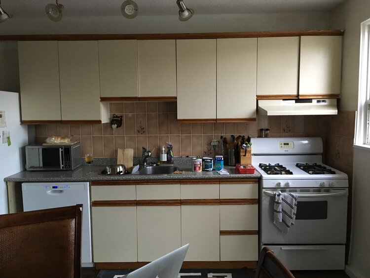 EF Blog: Your Kitchen Cabinets Transformed in 1 Afternoon